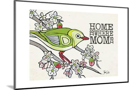 Japanese White Eye Mother's Day-Shanni Welsh-Mounted Art Print