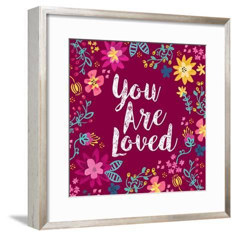 You Are Loved-Joan Coleman-Framed Art Print