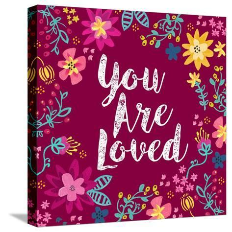 You Are Loved-Joan Coleman-Stretched Canvas Print