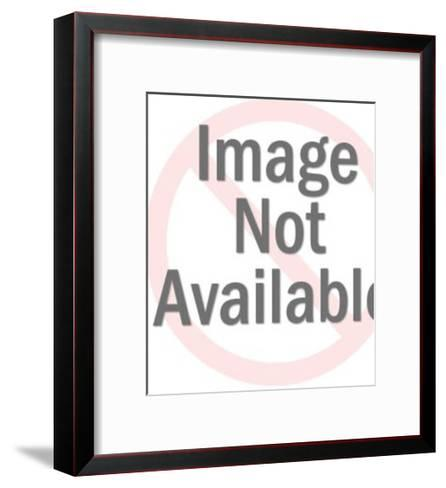 Two Men Talking-Pop Ink - CSA Images-Framed Art Print