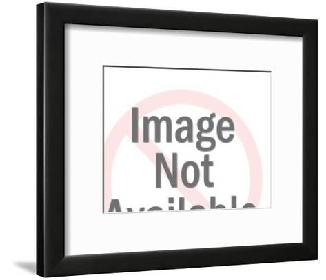 Profile of upset Man-Pop Ink - CSA Images-Framed Art Print