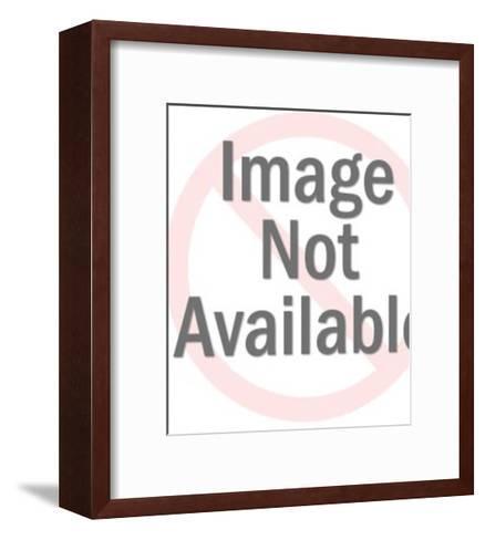 Silhouette of Girl's Head-Pop Ink - CSA Images-Framed Art Print