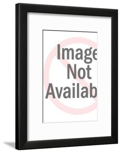 Face Pattern-Pop Ink - CSA Images-Framed Art Print