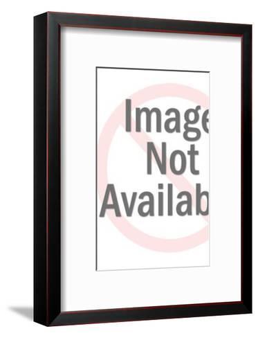 Woodcut Pattern-Pop Ink - CSA Images-Framed Art Print