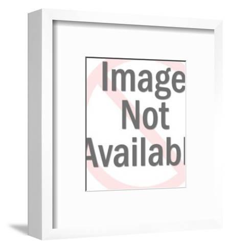 Snowflake-Pop Ink - CSA Images-Framed Art Print