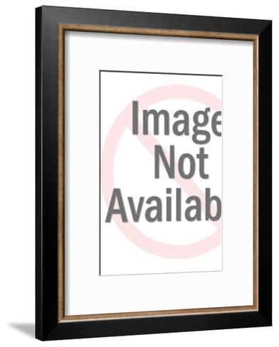Squiggle Shape Pattern-Pop Ink - CSA Images-Framed Art Print