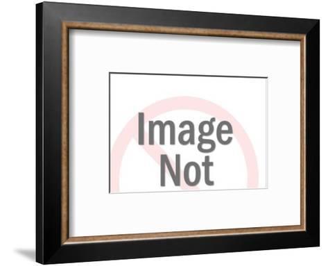 Circuit Pattern-Pop Ink - CSA Images-Framed Art Print