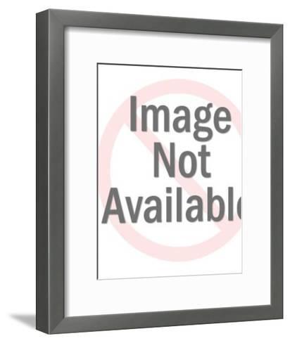 Mid-Century Pattern-Pop Ink - CSA Images-Framed Art Print
