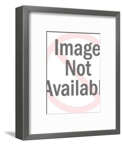 Jet Airplane-Pop Ink - CSA Images-Framed Art Print