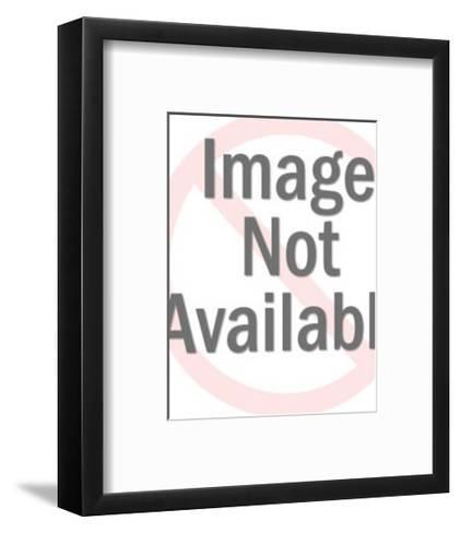 Airplane-Pop Ink - CSA Images-Framed Art Print