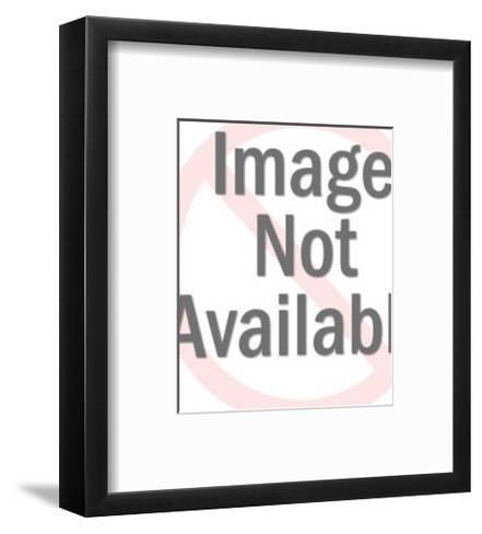 Abstract Diagram-Pop Ink - CSA Images-Framed Art Print