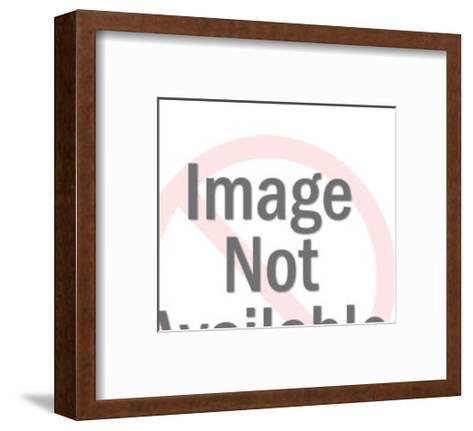 Man Holding Woman-Pop Ink - CSA Images-Framed Art Print