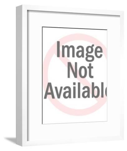 Police Badge-Pop Ink - CSA Images-Framed Art Print