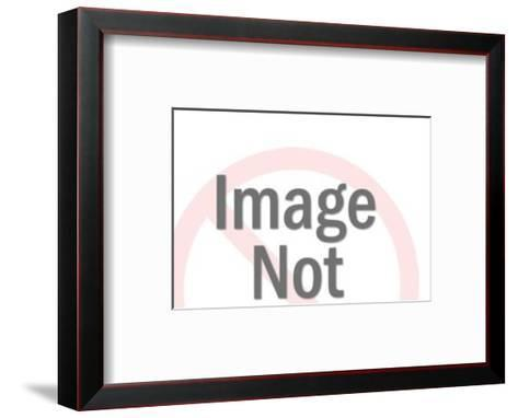 Longhorn-Pop Ink - CSA Images-Framed Art Print