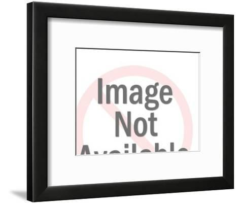 Close up of Man and Woman's Faces-Pop Ink - CSA Images-Framed Art Print