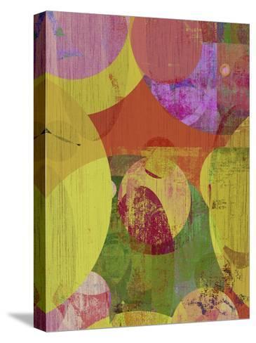 Vibrant Ellipses II-Ricki Mountain-Stretched Canvas Print