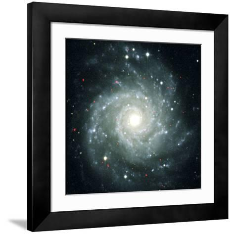 X-ray Sources In M74, Chandra Image--Framed Art Print