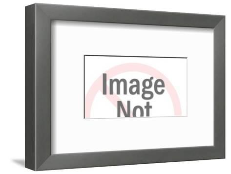 Smiling Mouth-Pop Ink - CSA Images-Framed Art Print