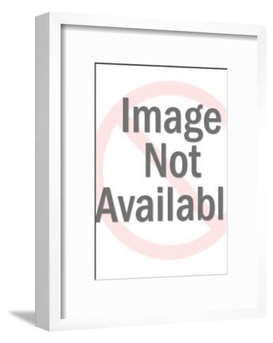 Squiggle Line Pattern-Pop Ink - CSA Images-Framed Art Print