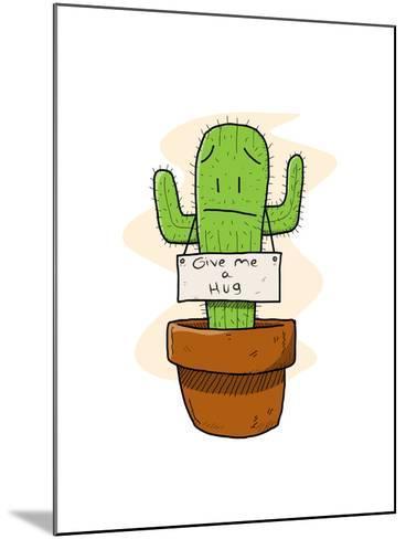 Cactus-lemonadeserenade-Mounted Art Print
