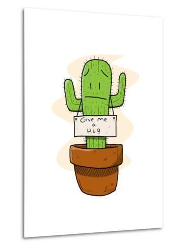 Cactus-lemonadeserenade-Metal Print
