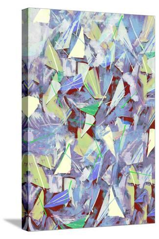 Shards, Splinters and Pine Needles; 2017-David McConochie-Stretched Canvas Print