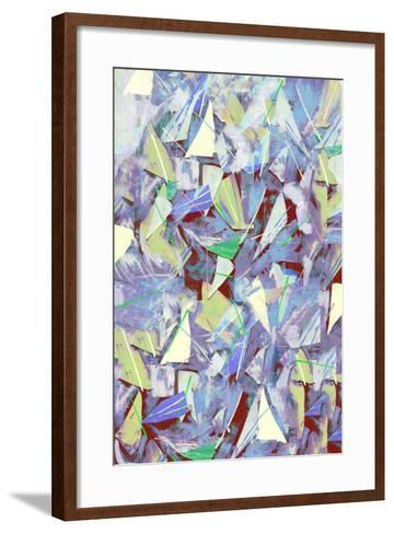Shards, Splinters and Pine Needles; 2017-David McConochie-Framed Art Print