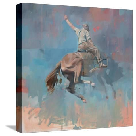 Vintage Rodeo-Peter Hawkins-Stretched Canvas Print