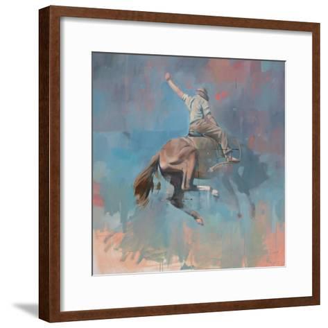Vintage Rodeo-Peter Hawkins-Framed Art Print