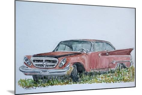 Old Chrysler, 1999-Anthony Butera-Mounted Giclee Print