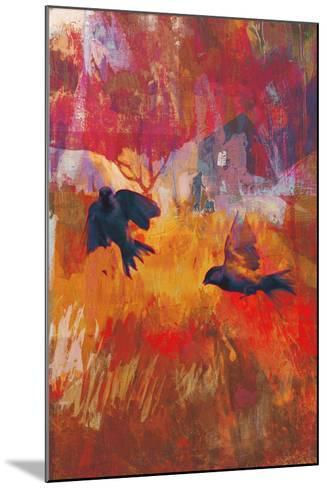 Sparrows, 2016-David McConochie-Mounted Giclee Print