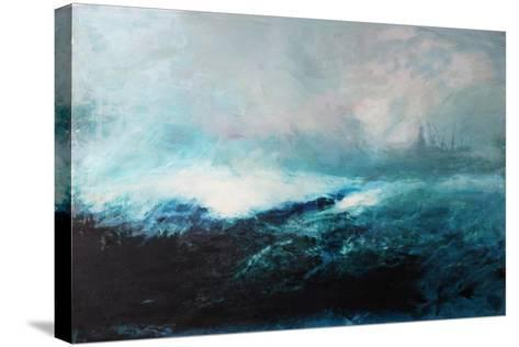 Seascape; 2015-David McConochie-Stretched Canvas Print