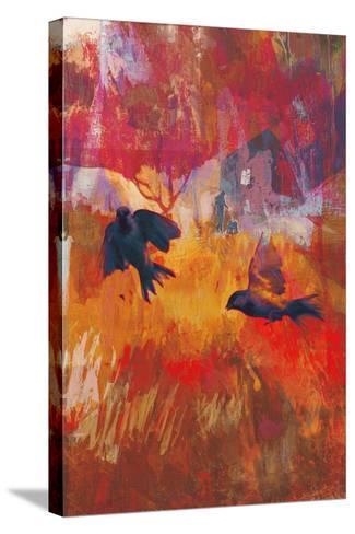 Sparrows, 2016-David McConochie-Stretched Canvas Print