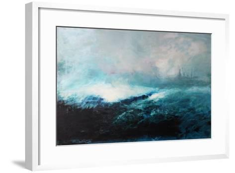Seascape; 2015-David McConochie-Framed Art Print