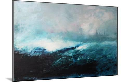 Seascape; 2015-David McConochie-Mounted Giclee Print