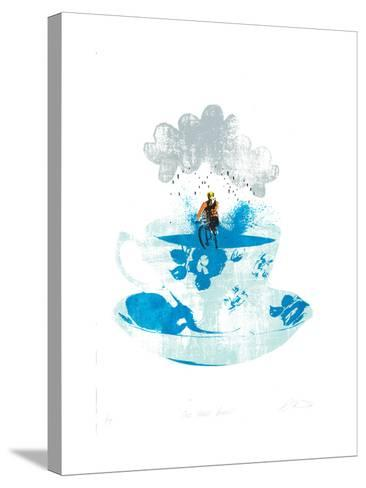 One More Brew-Katie Edwards-Stretched Canvas Print