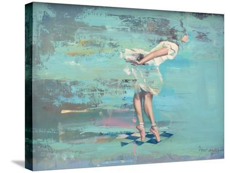 En Pointe-Peter Hawkins-Stretched Canvas Print