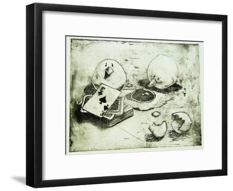 Card Birds-Thomas MacGregor-Framed Art Print