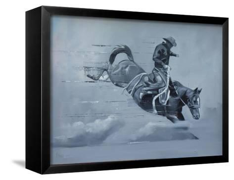 In Control-Peter Hawkins-Framed Canvas Print