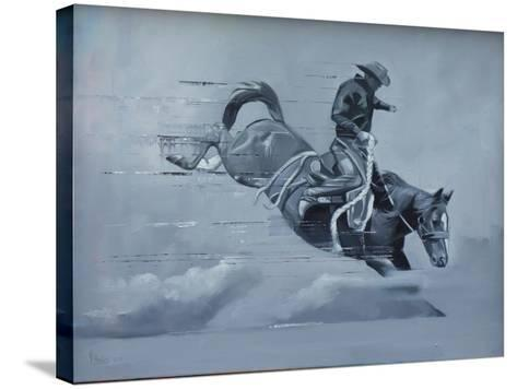 In Control-Peter Hawkins-Stretched Canvas Print