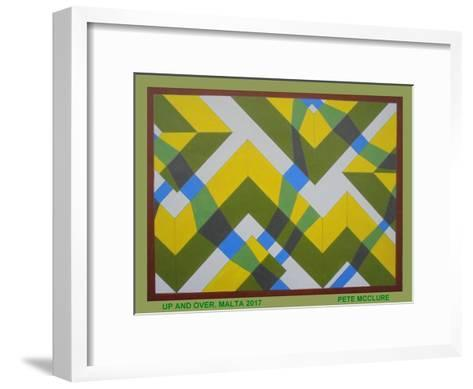 Up and Over, 2017-Peter McClure-Framed Art Print