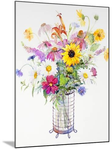 Mixed Bouquet, 2013-John Keeling-Mounted Giclee Print
