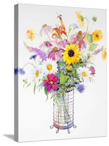 Mixed Bouquet, 2013-John Keeling-Stretched Canvas Print
