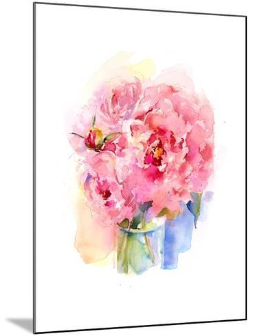 Peony Bouquet, 2016-John Keeling-Mounted Giclee Print