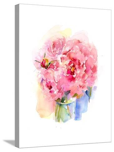 Peony Bouquet, 2016-John Keeling-Stretched Canvas Print