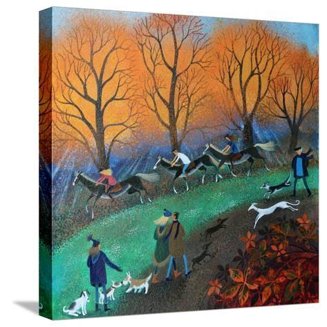 Ponies on the Common, 2017-Lisa Graa Jensen-Stretched Canvas Print