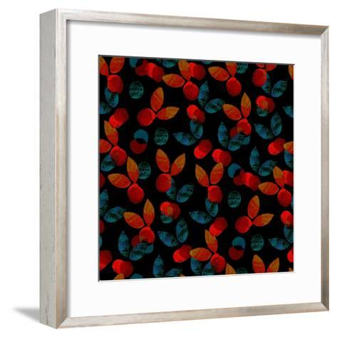 Orange Grove_Dusk, 2017-Catherine Worsley-Framed Art Print
