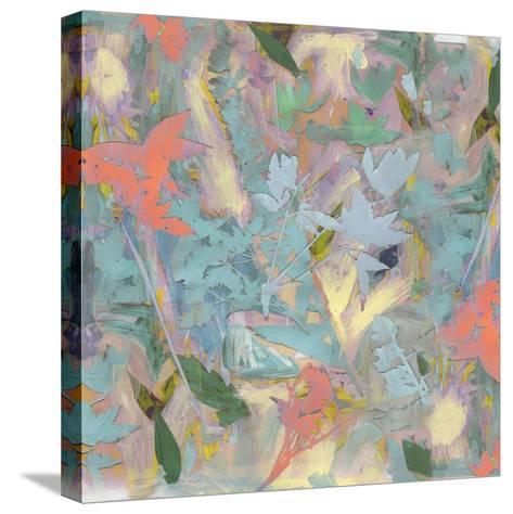 Botanical Collage # 3, 2017-David McConochie-Stretched Canvas Print