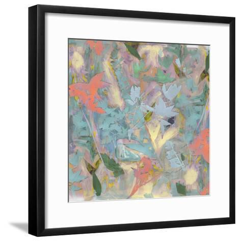 Botanical Collage # 3, 2017-David McConochie-Framed Art Print