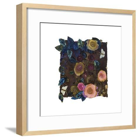 Small Corner of the Rose Garden-Nichola Campbell-Framed Art Print